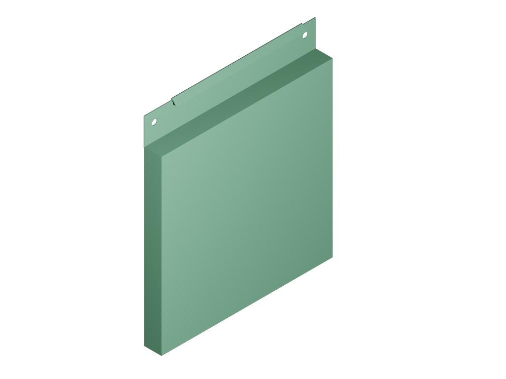 металлокассета фасадная характеристики